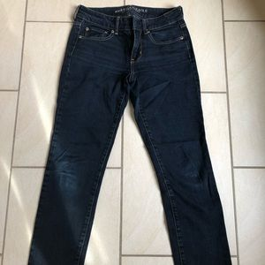 AE Straight leg Dark Wash Denim